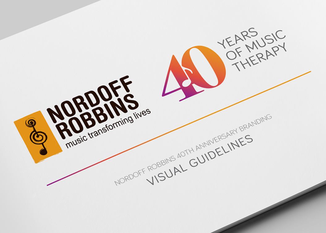 Nordoff Robbins - Visual Guidelines